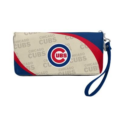 MLB Little Earth Curve Zip Organizer Wallet