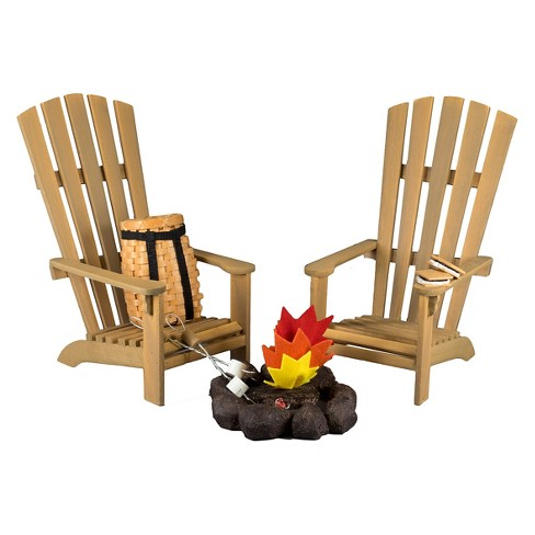 The Queen's Treasures® 18 Inch Doll Camping Furniture & Accessories,Chairs,Fire Pit, Smores, Marshmallows - image 1 of 4