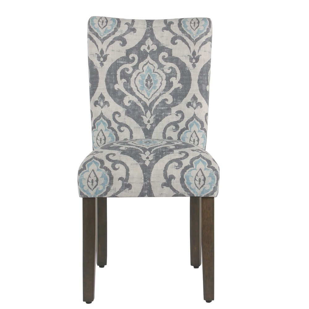 Set of 2 Classic Parsons Dining Chair Suri Blue - Homepop was $209.99 now $157.49 (25.0% off)