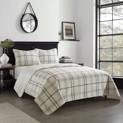 Dearfoams Willisville Quilt Set with Micromink Reverse