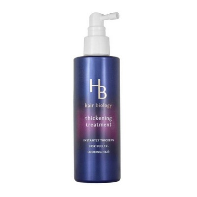 Hair Biology Thickening Treatment with Biotin Full & Vibrant for Fine Thin or Flat Hair - 6.4 fl oz