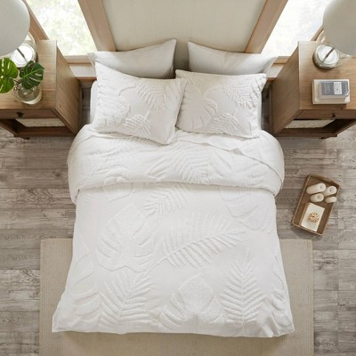 Ceiba Tufted Cotton Chenille Coverlet Set