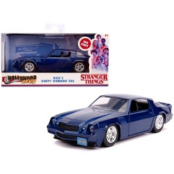 "Billy's Chevrolet Camaro Z28 Metallic Dark Blue ""Stranger Things"" (2016) TV Series 1/32 Diecast Model Car by Jada"
