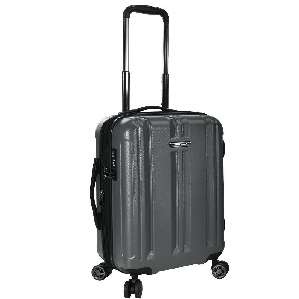Traveler's Choice 21 La Serena Suitcase - Gray, Grey