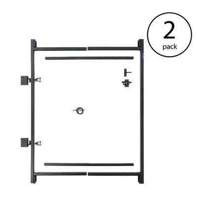"Adjust-A-Gate Steel Frame Gate Building Kit, 36""-60 Inch Wide Opening (2 Pack)"