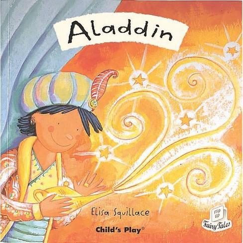 Aladdin - (Flip Up Fairy Tales) (Paperback) - image 1 of 1