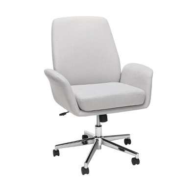 Modern Fabric Upholstered Office Chair Gray - OFM