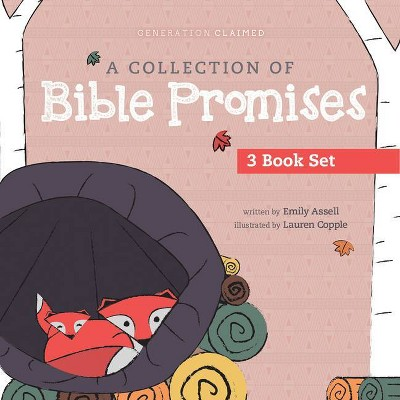 A Collection of Bible Promises 3-Book Set: You Are / Tonight / Chosen - (Generation Claimed)by Emily Assell (Board Book)