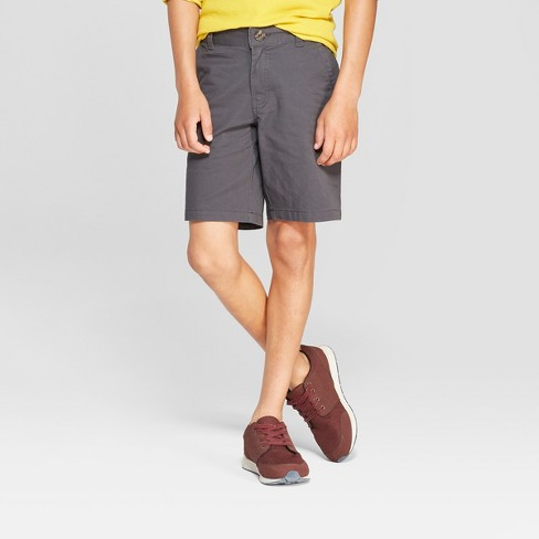 Boys' Stretch Chino Shorts - Cat & Jack™ - image 1 of 3