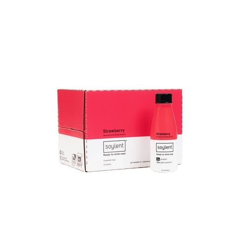 Soylent Nutritional Shake - Strawberry - 14 fl oz/12pk - image 1 of 3