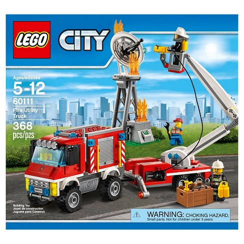 Lego City Fire Utility Truck 60111 Target