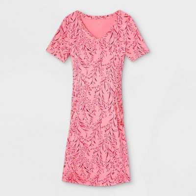 Short Sleeve Side Shirred Maternity Dress - Isabel Maternity by Ingrid & Isabel™