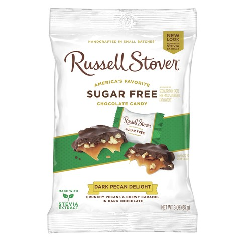 Russell Stover Dark Chocolate Pecan Delight - 3oz - image 1 of 1