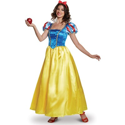 Snow White & the Seven Dwarfs Snow White Deluxe Adult Costume (Classic Collection)