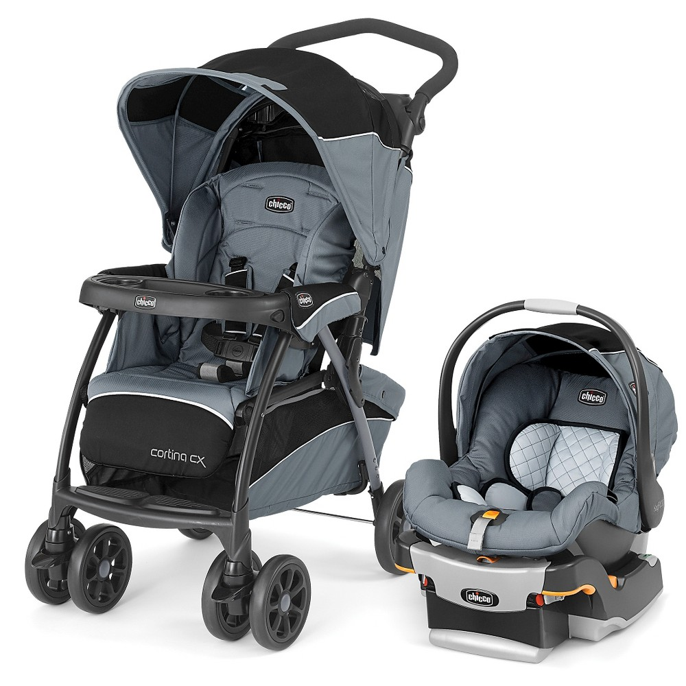 Chicco Cortina CX Travel System Iron
