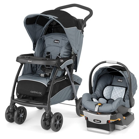 Chicco Cortina CX Travel System Iron - image 1 of 4