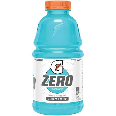 Gatorade G Zero Glacier Freeze Sports Drink - 32 fl oz Bottle