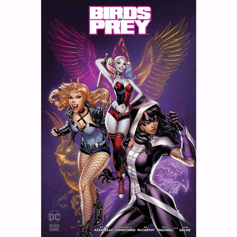 Dc Comics Black Label Birds Of Prey 1 Comic Book J Scott Campbell Variant Cover B Target