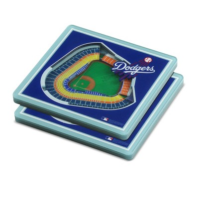 MLB Los Angeles Dodgers StadiumView Coaster 2pk