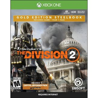 Tom Clancys: The Division 2 Gold Edition Steelbook - Xbox One