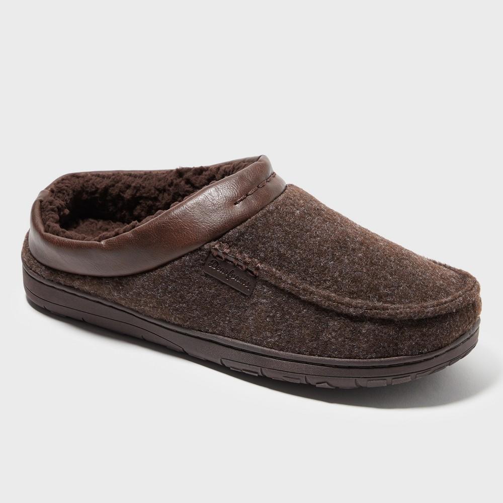 Men's Dearfoams Slide Slippers - Brown S