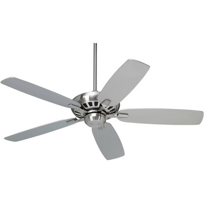 "52"" Casa Vieja Modern Ceiling Fan with Remote Control Brushed Nickel for Living Room Kitchen Bedroom Family Dining"