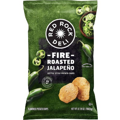 Red Rock Deli Fire Roasted Jalapeno - 6.875oz