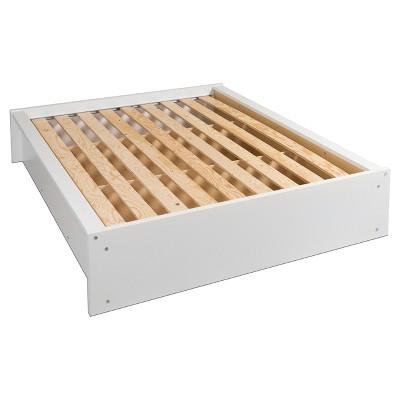 Calla Platform Bed - Queen - Pure White - Prepac