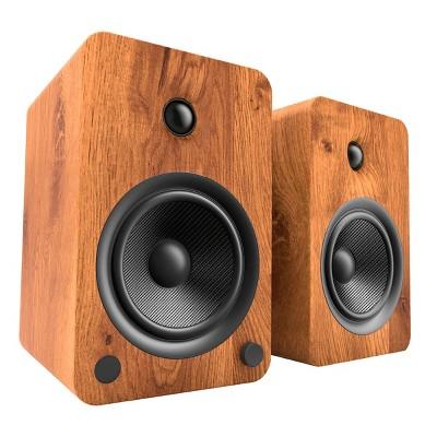 Kanto YU6 Powered Bookshelf Speakers with Built-In Bluetooth - Pair