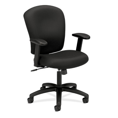 Mid Back Office Chair with Arms Black - HON
