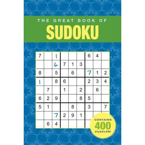 The Great Book of Sudoku - (Paperback) - image 1 of 1