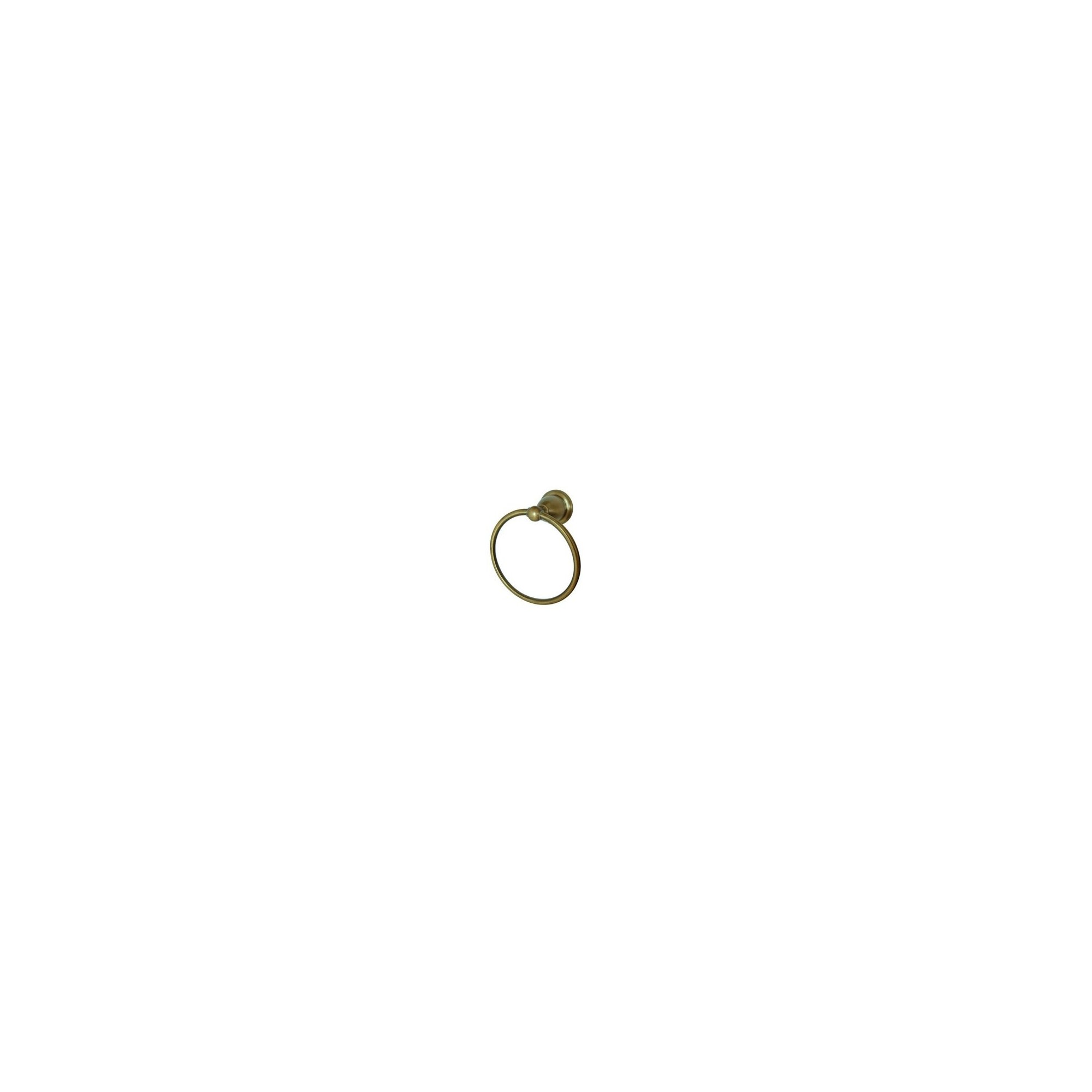 'Heritage 6'' Towel Ring Antique Brass - Kingston Brass'