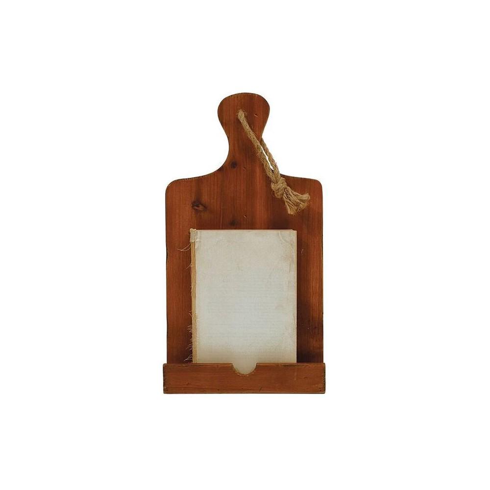 Image of Wood Tablet Holder - 3R Studios, Brown