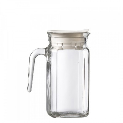 Amici Home Italian Igloo Quadra Glass Pitcher, 17oz