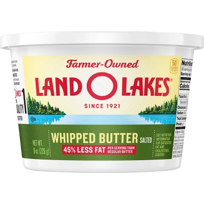 Land O Lakes Salted Whipped Butter - 8oz