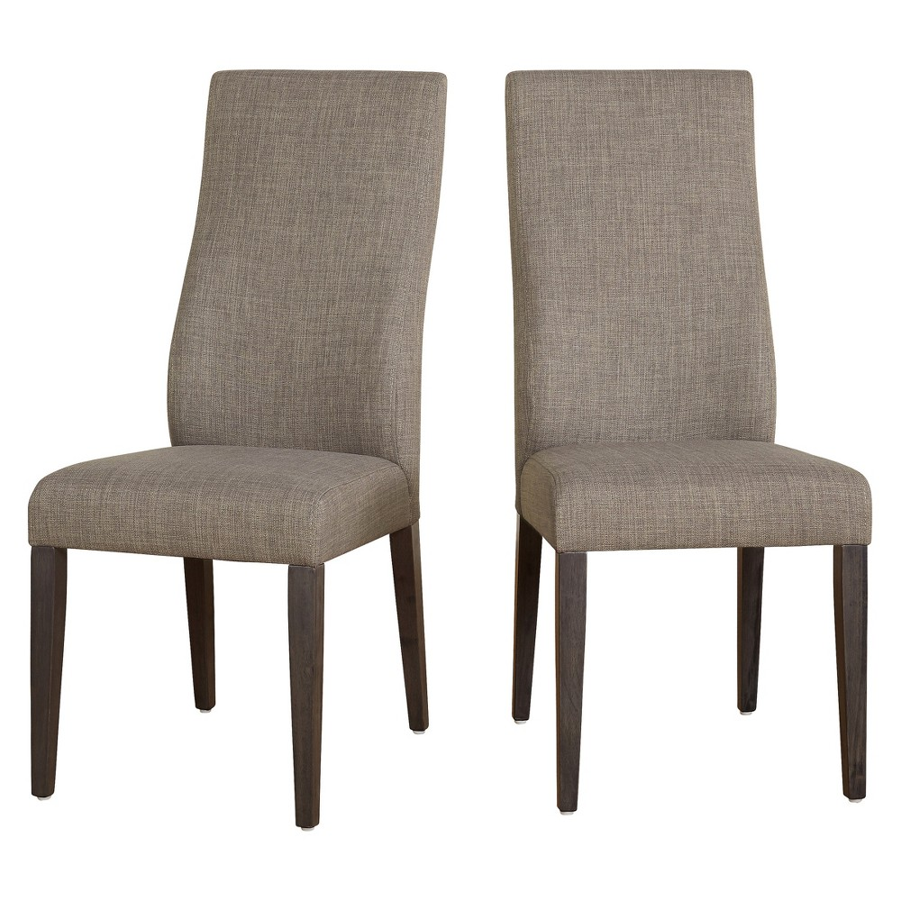 Set of 2 Glen Dining Chair - Gray - Buylateral