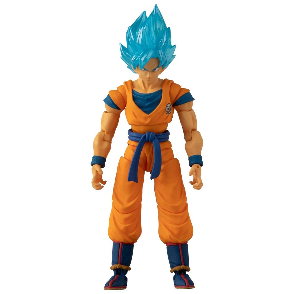 "Image of ""Dragon Ball Super Super Saiyan Blue Goku 5"""" Action Figure"""
