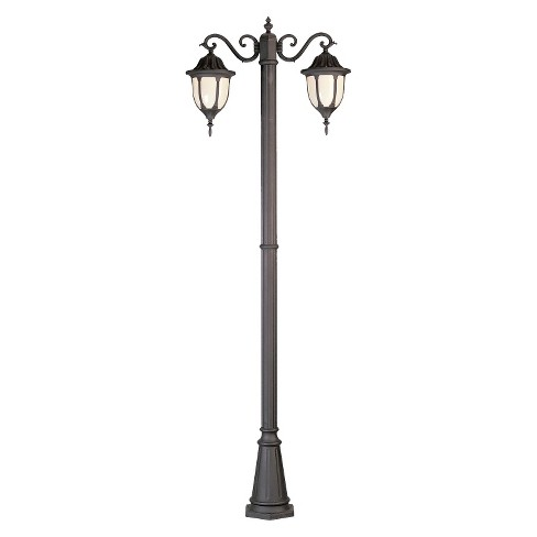 Rothschild 2 -Lantern Lamp Post in Black - image 1 of 1