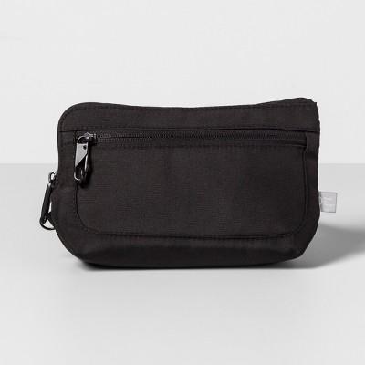 AntiTheft RFID Small Crossbody Waistpack Black - Made By Design™