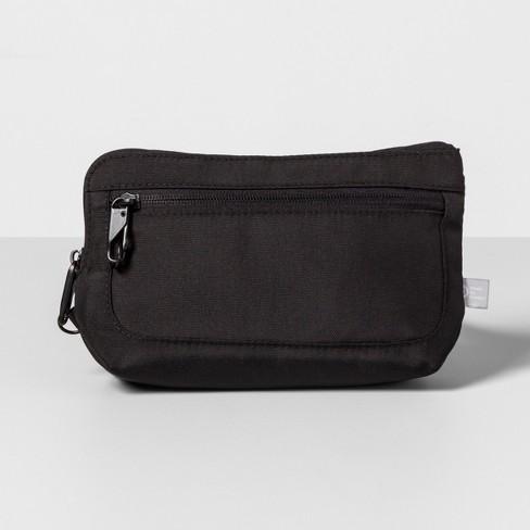 AntiTheft RFID Small Crossbody Waistpack - Black - Made By Design™