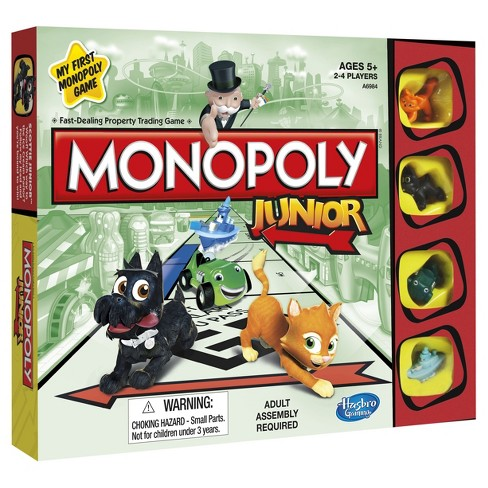 Monopoly Junior Board Game - image 1 of 4