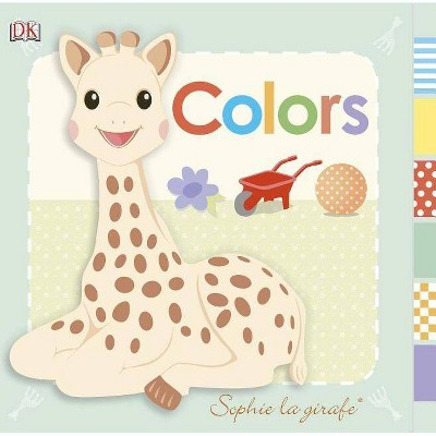 Sophie La Girafe: Colors - (Board Book)