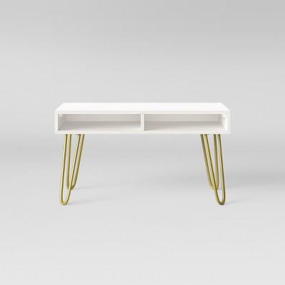 Hair Pin Coffee Table White - Room Essentials™