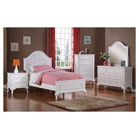 Isabella Youth Twin 5pc in Set White - Picket House Furnishings® - image 1 of 4