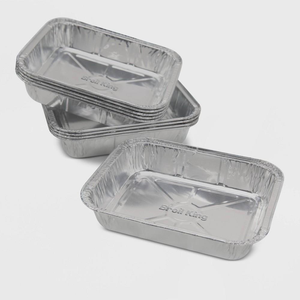 """Image of """"Broil King 10pk 6"""""""" x 4.75"""""""" Aluminum Foil Drip Pan"""""""