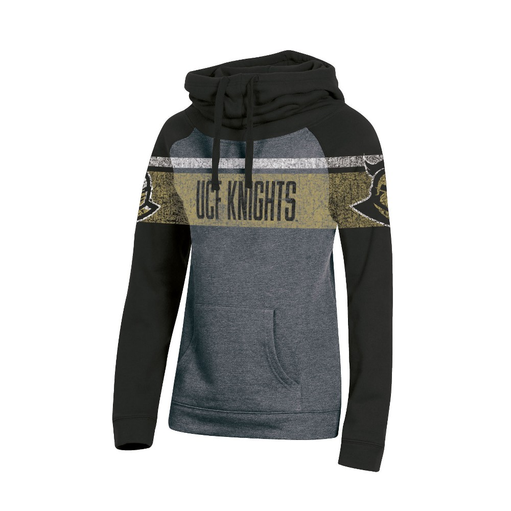 Ucf Knights Women's Cowl Neck Hoodie - S, Multicolored