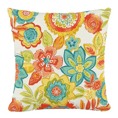 Herrick-Fresco Flower Box Outdoor Throw Pillow - Skyline Furniture