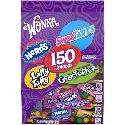 SweeTARTS, Nerds, Laffy Taffy and Gobstopper Mix Ups Variety Pack - 150ct