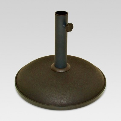 Concrete Umbrella Base - Brown - Threshold™