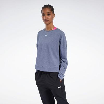 Reebok ACTIVCHILL+COTTON Long Sleeve Tee Womens Athletic T-Shirts
